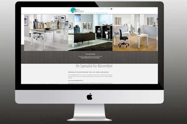 Webdesign für Büromöbellieferant