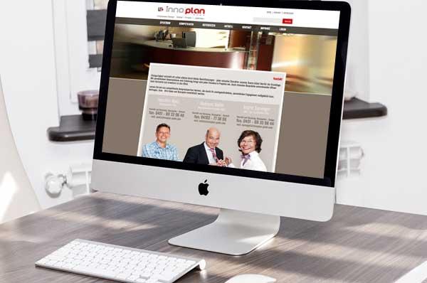 Webdesign für Ladeneinrichtungen